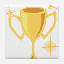 Trophy Cup Tile Coaster