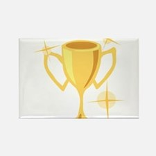 Trophy Cup Rectangle Magnet
