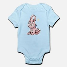 Pink Bunny Infant Bodysuit