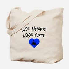 50% Newfie - 100% Cute Tote Bag