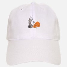 Two Cats Baseball Baseball Cap
