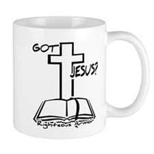 Got Jesus White Mug