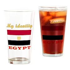 My Identity Egypt Drinking Glass