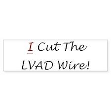 LVAD Wire Bumper Bumper Sticker