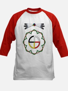 Four Directions Symbol Kids Baseball Jersey