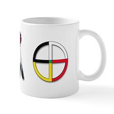 Four Directions Symbol Small Mug