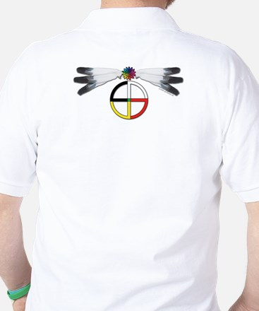 Four Directions Symbol Golf Shirt