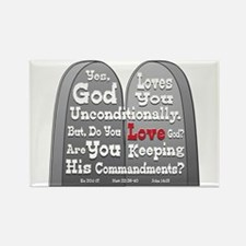 Commandments Rectangle Magnet