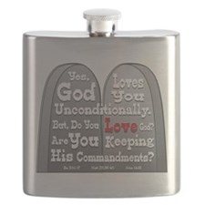 Commandments Flask
