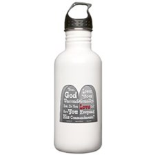 Commandments Water Bottle