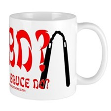 What Would Bruce Do? Small Mug