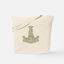 Mjolnir Gold Tote Bag