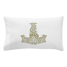 Mjolnir Gold Pillow Case