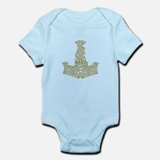 Mjolnir Gold Infant Bodysuit