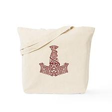 Mjolnir Ruby Tote Bag