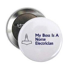 Norse Electrician Button