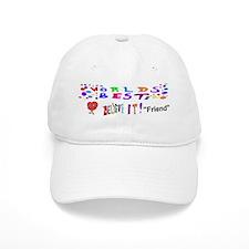 Worlds Best Friend Valentine Baseball Cap