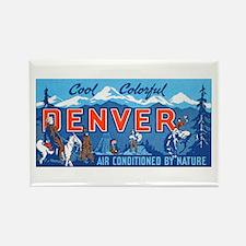 Denver Colorado Rectangle Magnet