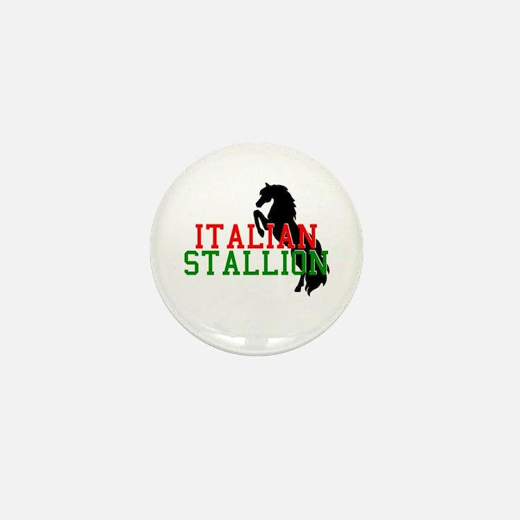 Italian Stallion Mini Button