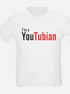 I'm A YouTubian Kids T-Shirt