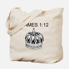 James 1:12 Tote Bag