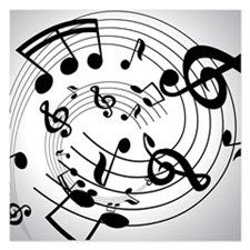 Musical notes - Invitations