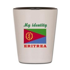 My Identity Eritrea Shot Glass