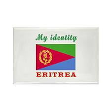 My Identity Eritrea Rectangle Magnet