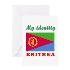 My Identity Eritrea Greeting Card