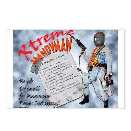 """""""Xtreme"""" Handyman Postcards (8)"""
