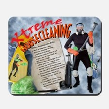 """Xtreme"" Housecleaning Mousepad"