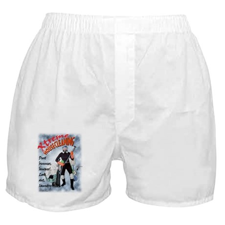 """Xtreme"" Housecleaning Boxer Shorts"
