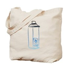 Graffiti Spray Can Tote Bag