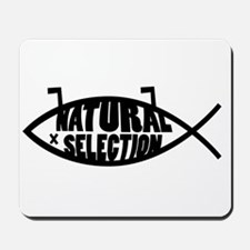 Natural Selection Dead Fish Mousepad