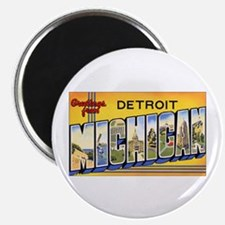 Detroit Michigan Magnet