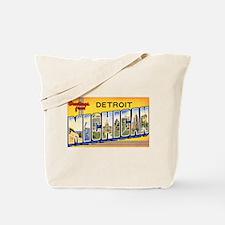 Detroit Michigan Tote Bag