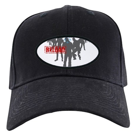 Kill The Zombies Black Cap