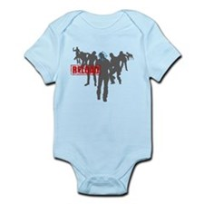 Kill The Zombies Infant Bodysuit
