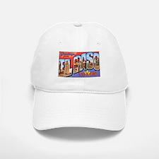 El Paso Texas Greetings Baseball Baseball Cap