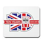 PhillyMINI 10th Anniversary Mousepad