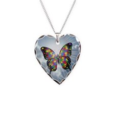 Cute Asd Necklace Heart Charm