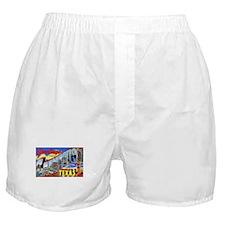 Galveston Texas Greetings Boxer Shorts