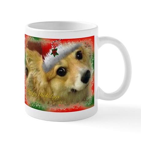 Christmas Corgi Mug