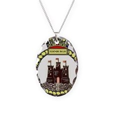 HMS Edinburgh Necklace Oval Charm