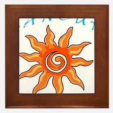Cancun Framed Tile