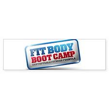 SLP Fit Body Boot Camp Bumper Sticker