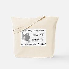 My Monkey. Tote Bag