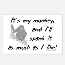 My Monkey. Postcards (Package of 8)