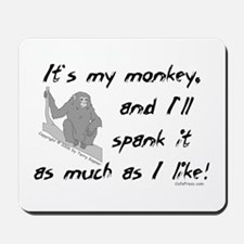 My Monkey. Mousepad