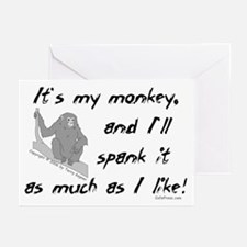 My Monkey. Greeting Cards (Pk of 10)